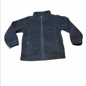 Columbia Toddler Full Zip Grey Fleece Jacket 3T